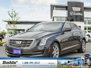 2016 Cadillac ATS 2.0L Turbo 2.99% for up to 60 months O.A.C.!