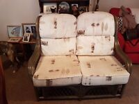 Free to collector - wicker sofa