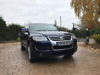 Touareg Altitude V6 TDi 5DR, Beautiful car drives superbly. Hi spec model with heated seats, Sat nav