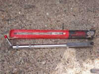 BRITOOL ADJUSTABLE TORQUE WRENCH.