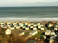 For sale static caravan ideal for first time buyer. Sited at Pease Bay Berwickshire coast. £378pm.