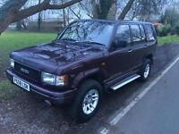 Isuzu trooper 4x4 offroad long mot drives great!