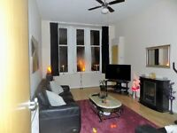 1 Bedroom Large Victorian Modernised Flat GCH,Sash Windows Double Glazed