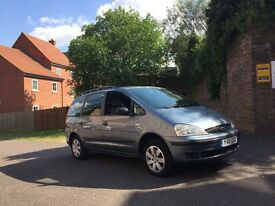Ford galaxy 1.9 tdi diesel automatic 7 seater same as sharan low miles only 101k