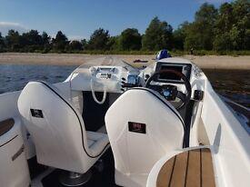 Viper Jet Boat speedboat 4.3 mercruiser mpi 21-hours superyacht tender 2009