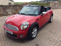 Mini One Convertible 1.6 (2011) in Chilli Red with Pepper Pack (£6999.00)