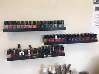 Job lot nail varnishes approx 300 bottles