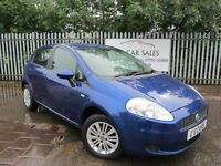 2007 Fiat Grande Punto Eleganza 1.4 5Dr. One Owner From New Full Servive History