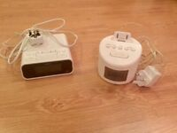 DAB alarm clock radios. Price is for both but will sell separately, see description