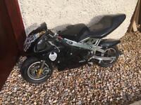 BLACK MINI MOTO 49CC BARGAIN