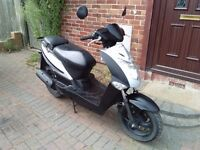 2012 Kymco Agility 50 scooter, new 1 year MOT, good runner, good condition, low mileage,,,,