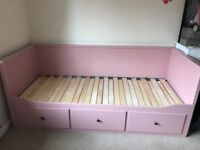 Ikea pink day bed with 2 mattress SOLD