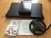Nintendo Wii Console and Wii Fit Plus 2012 (Black)