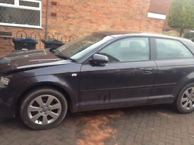 Audi A3 fsi damaged 2007 cheap !!!! £700