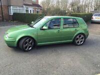 VW Golf Gt Tdi mk4, remeped ,for sale