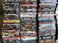 DVDs - over 500 titles - some special editions/ Boxed sets. Ideal for car boot.