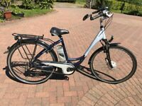9bbbf8f7fc4 Kalkhoff electric bicycle. German built, step-through model. little used.