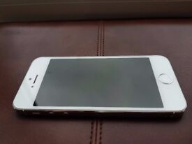 Apple iPhone 5S 16GB Silver Factory Unlocked to any Network Reasonable Condition