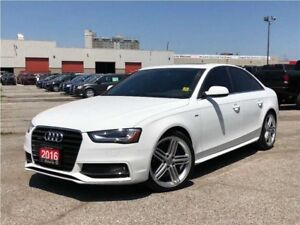 2016 Audi A4 2.0T**AWD**LEATHER**NAV**SUNROOF**BACK UP CAM**