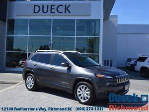 2015 Jeep Cherokee Limited  Leather - Rear Camera