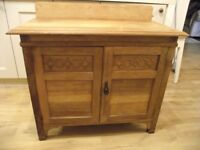 Old stripped cabinet