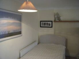 Pin Green Stevenage. Spacious bedroom to rent in friendly shared house. All bills included