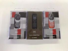 Zanco Phone- Samllest phone in the world, collect today from West Brom B70 8EX £30 amazning value!