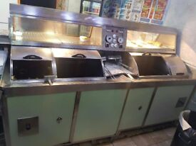 Chip shop equipment for sale