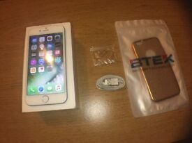 IPHONE 6 EE WHITE/SILVER 16GB FOR £150 NO OFFERS *** ADVERT 42 ***