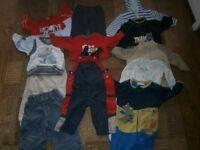 Large Bundle of Boys Clothes aged 12-18 months