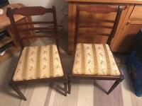 2 chairs free local delivery