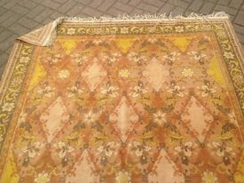 Large hand-knotted rug
