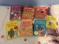 BUNDLE NEW DAVID WALLIAM BOOKS RATBURGER GANGSTA GRANNY BOY IN THE DRESS MR STINK BLOB AWFUL AUNTIE
