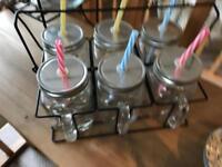 Summer bbq glassware