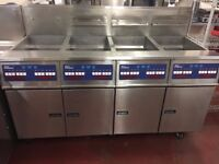 Pitco G14S fryer (4 X 1) Fully Automatic Fryer