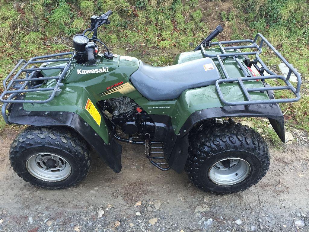 Kawasaki KLF300 ATV Farm Quad Bike klf 300 cc IMMACULATE CONDITION
