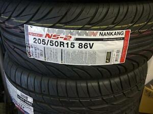 Nankang NS-II NS Ultra-Sport UHP 205/50R15 86V Clearance $340 cash n carry for 4