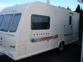 unicorn seville 2 berth 2011 caravan