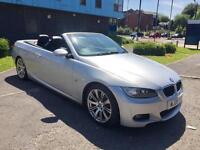 BMW 320i 2.0 M SPORT AUTOMATIC CONVERTIBLE LEATHER INTERIOR