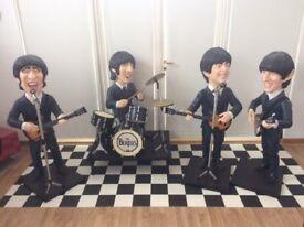 """The Beatles - Large Figures ( Statues ) 4ft 5"""" Av."""