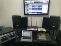 Music recording studio - - £5 an hour -- for bands, producers, podcasters, teachers