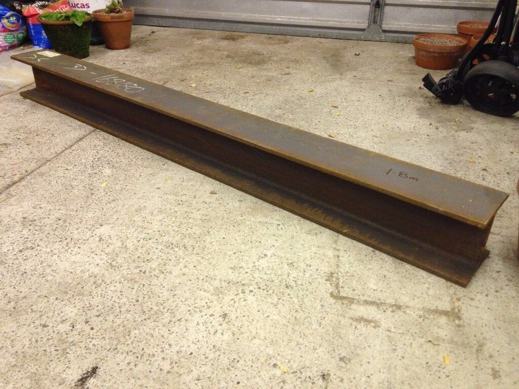 Steel Beam / Universal Column - 152x152 and 1.8m in length, 37kg/m