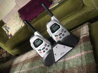 Binatone MR250 walkie talkies