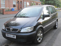 Zafira 1.6 active 2004 7 seater 69700 miles very low miles.. SWAPS ONLY