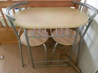 Small table with chairs