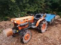 Kubota b7001 4x4 tractor with extras