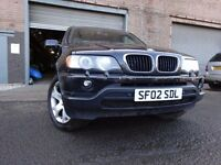 💥BMW X5 SPORT3.0 SEMi-AUTO,MOT JULY 017,2 OWNERS,PART HISTORY,2 KEYS,VERY LOW MILEAGE 4X4