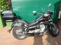 2006 Moto Guzzi Nevada Classic 750ie 6555 miles from new