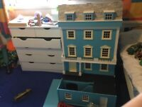 Large 1/12th scale dolls house