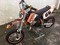 KTM 50 SX (2013) Water cooled PRO SENIOR